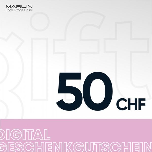 Marlin Geschenk-Gutschein 50.- CHF