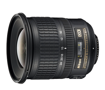 Nikon AF-S DX 10-24/3.5-4.5G ED - inkl. 10% Rabatt , 3 Jahre CH Garantie