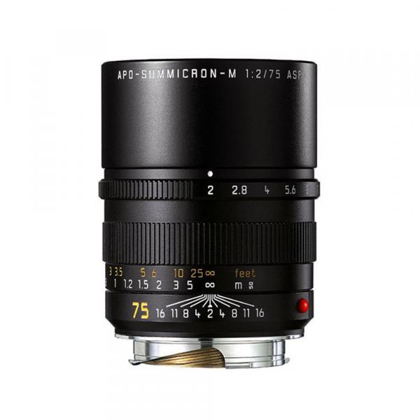 Leica APO-Summicron-M 75/2.0 ASPH. Schwarz 11637