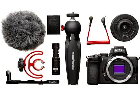 Nikon Z50 Vlogger Kit-inkl. 100.- Sofort-Rabatt,3 Jahre CH Garantie