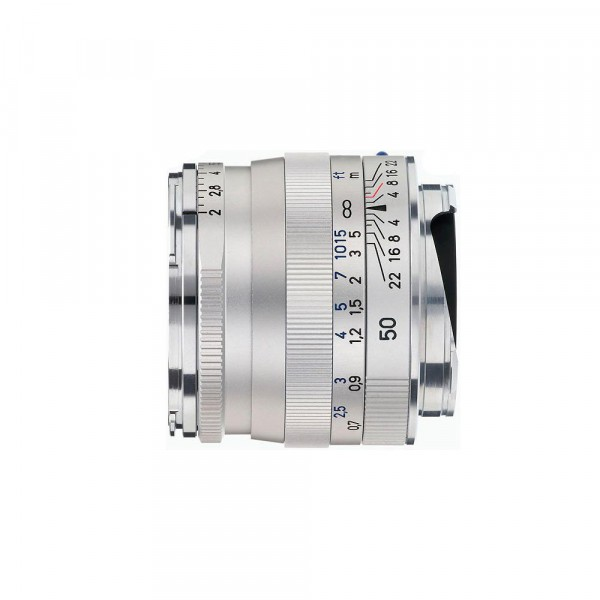 Zeiss Planar T* 2 / 50 mm ZM silver