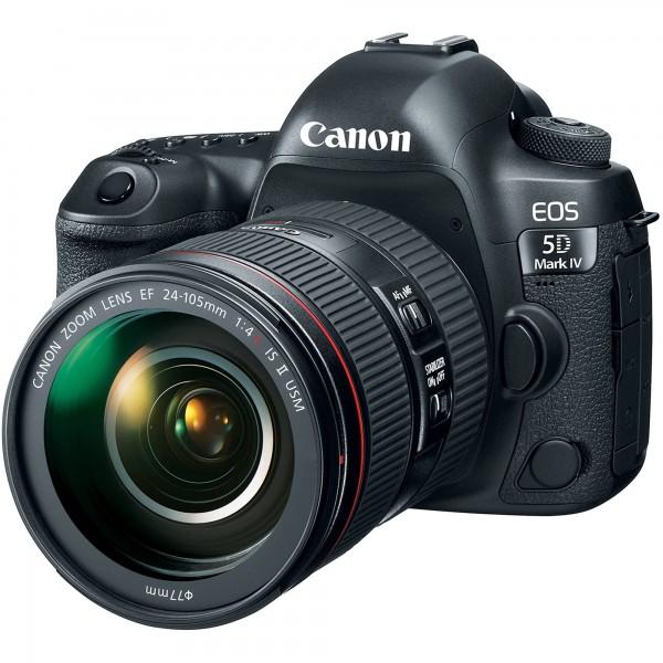 Canon EOS 5D Mark IV+EF 24-105/4.0 L IS USM II-EOS X Plus Aktion,3 Jahre Premium Garantie