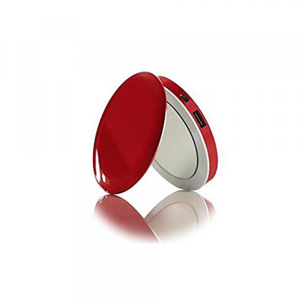 Pearl Red Spiegel mit Ladefunktion