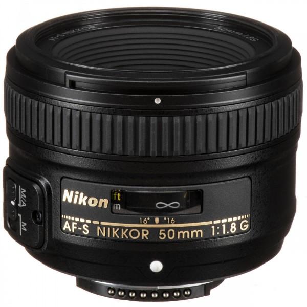 Nikon AF-S 50/1.8 G-3 Jahre CH Garantie