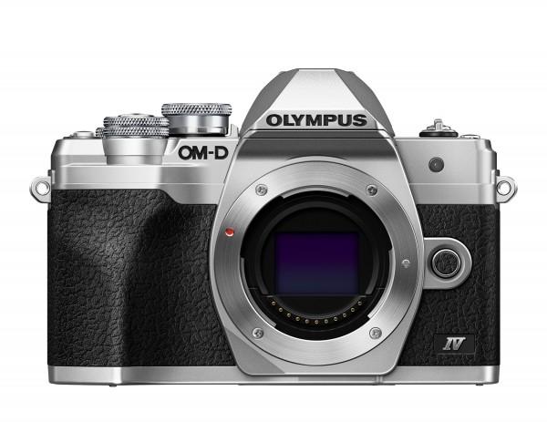 Olympus OM-D E-M10 IV Body silber-CH Gar.