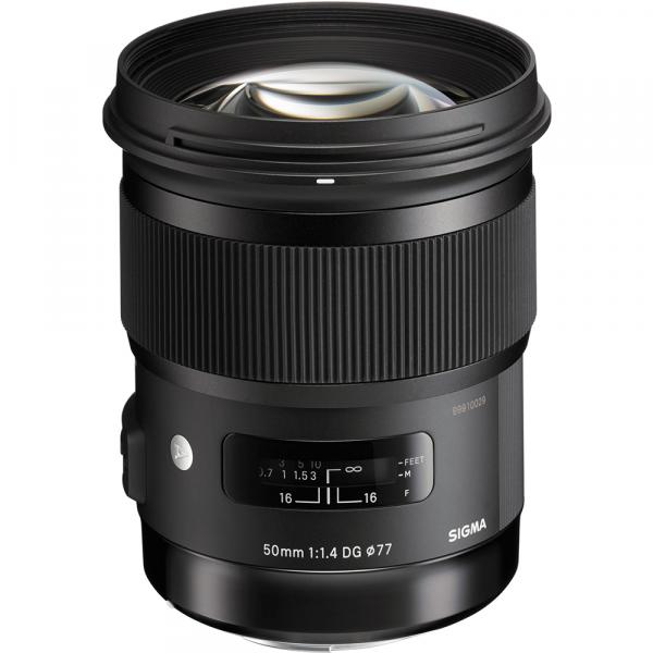 Sigma 50mm/1.4 DG HSM art Canon- inkl. SSC-Garantiekarte