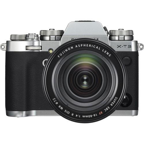 Fujifilm X-T3 Kit XF 16-80mm silber-4 Jahre Fachhandelsgarantie
