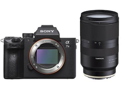 Sony A7 III Kit Tamron 28-75/2.8 Di III RXD-abzgl. 200.- Zubrhör GU,abzgl. 300.- CashBack,CH Garan