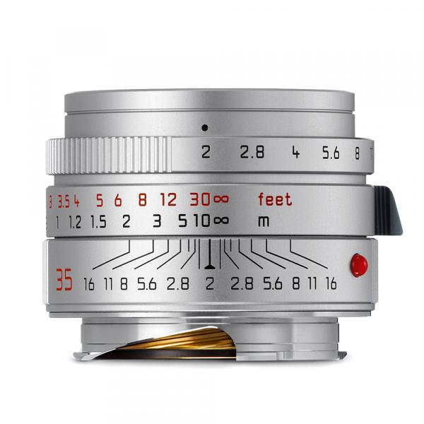 Leica Summicron-M 35/2.0 ASPH. Silbern eloxiert 11674