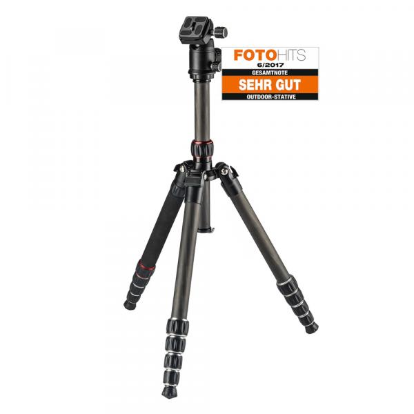 Hama Stativ Professional 153 Premium Duo Carbon
