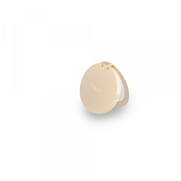 Pearl Gold Spiegel mit Ladefunktion