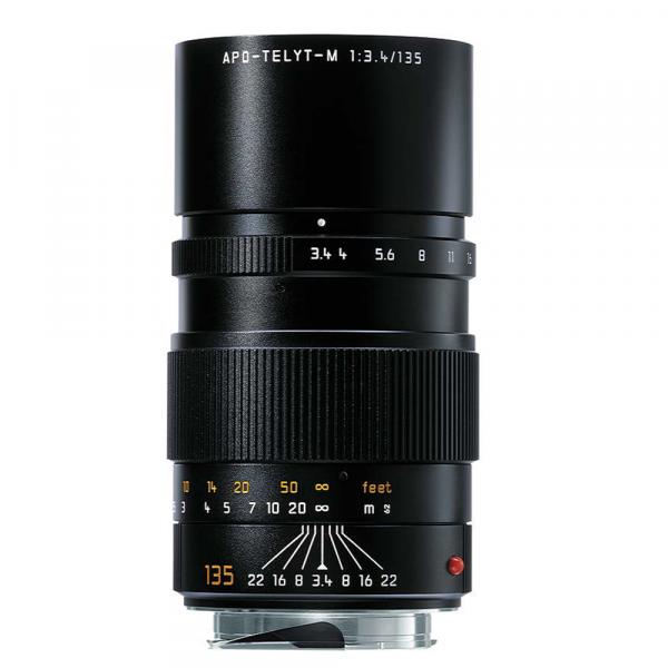 Leica APO-Telyt-M 135/3.4 schwarz 11889