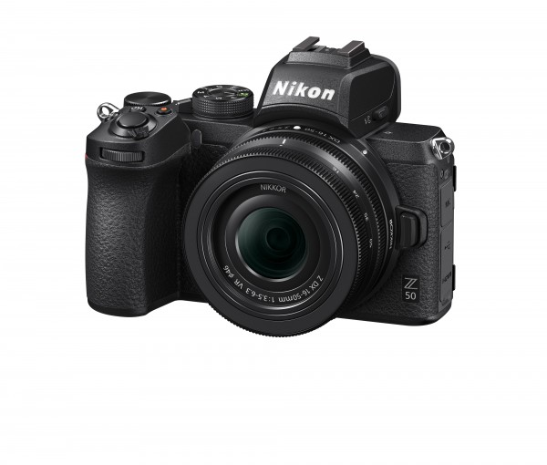 Nikon Z50 Kit DX 16-50/3.5-6.3 VR-inkl. 100.- Sofort-Rabatt,3 Jahre CH Garantie