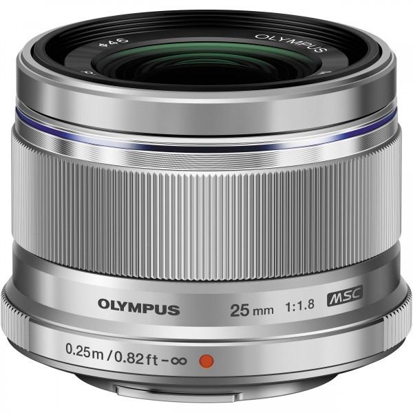 Olympus m.Zuiko 25mm/1.8 silver-CH Garantie