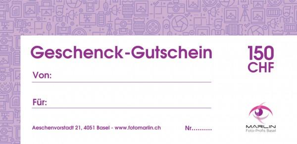Marlin Geschenk-Gutschein 150.- CHF