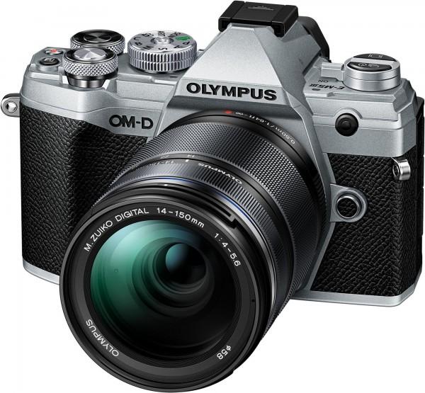 Olympus OM-D E-M5 III Kit 14-150mm silber-abzgl. 150.- CashBack , CH Ga