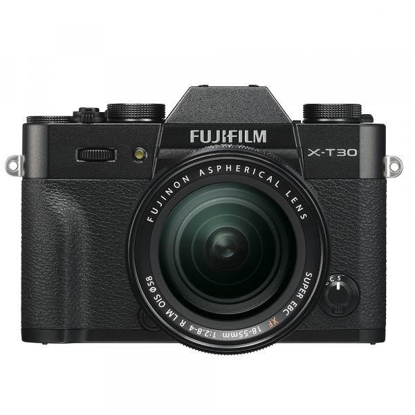 Fujifilm X-T30 Black Kit XF18-55-4 Jahre Fachhandelsgarantie
