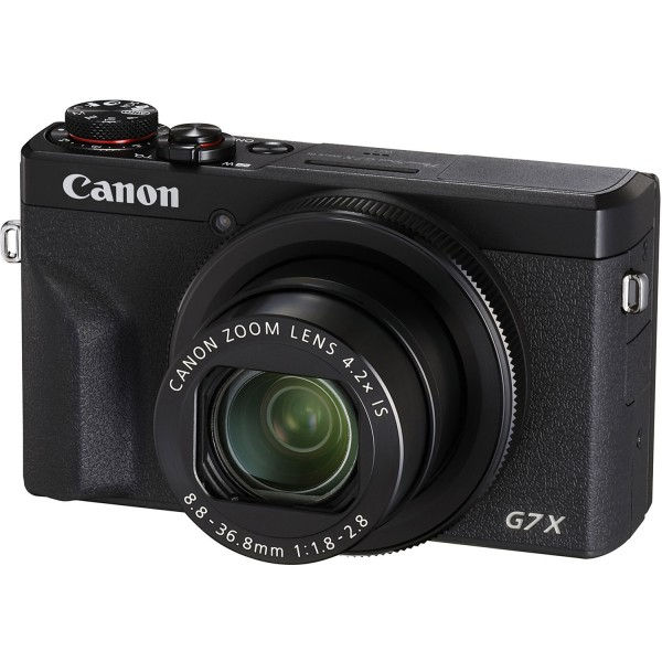 Canon PowerShot G7 X Mark III Black-CH Garantie