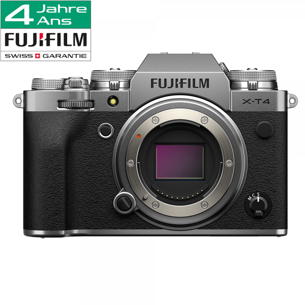Fujifilm X-T4 Body silver-4 Jahre Fachhandelsgarantie