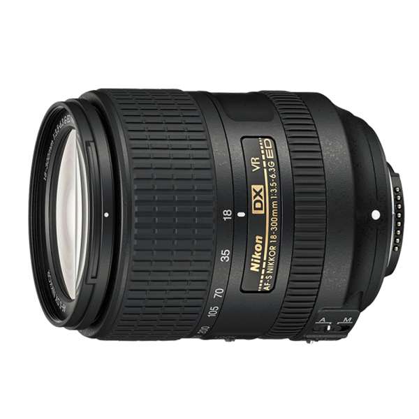 Nikon AF-S DX 18-300/3.5-6.3G ED VR-CH 3 J. Gar.