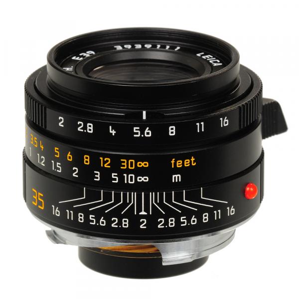 Leica Summicron-M 35/2.0 ASPH. 11673 schw. Eloxiert
