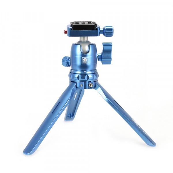 Sirui 3T-15B+B-00B Ministativ Alu blau-abzgl. 20% Rabatt mit Code
